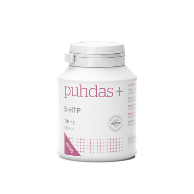 Puhdas+ 5-HTP 100 mg vegekaps  60 kpl