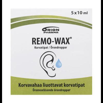 REMO-WAX KORVATIPAT X5X10 ML