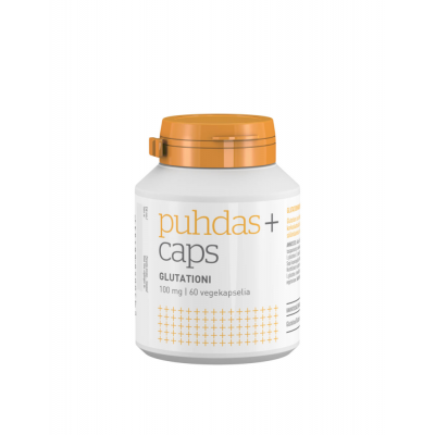 Puhdas+ Caps Glutationi 100 mg X60 kaps