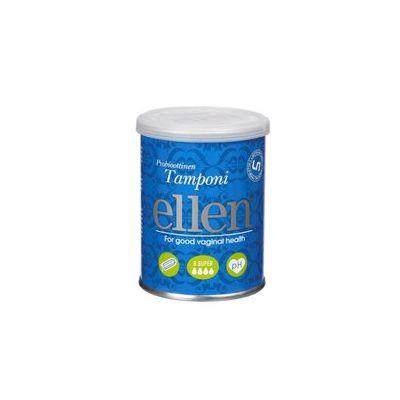 Ellen probioottinen tamponi super X8 kpl