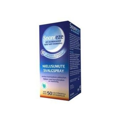 Snoreeze throat spray nielusumute X1 KPL