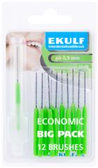 Ekulf hammasväliharja ph ABC 0,9 vihreä X12 kpl