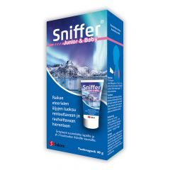 Sniffer Junior&Baby tuoksugeeli 30 g