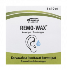 REMO-WAX KORVATIPAT 5X10 ML