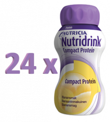 NUTRIDRINK COMPACT PROTEIN BANAANI 24X125 ML